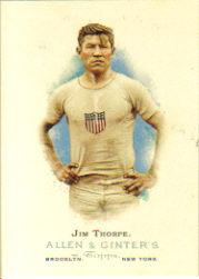 2006 Topps Allen and Ginter #314 Jim Thorpe