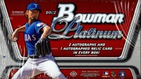 2012 Bowman Platinum Baseball