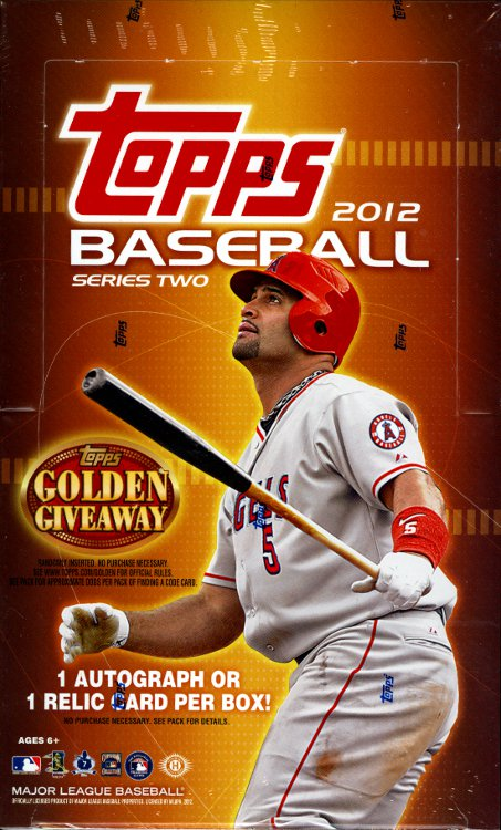 2012 Topps Series 2 Baseball