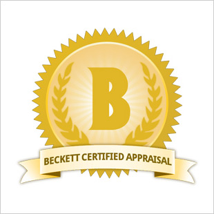 Beckett Certified Appraisal