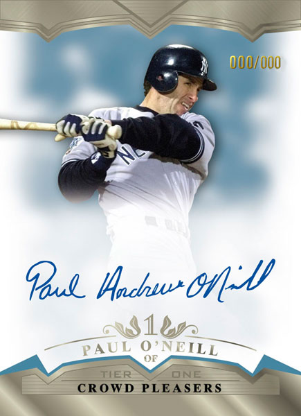 2011ToppsTierOneBaseballOnCardPaulOneill