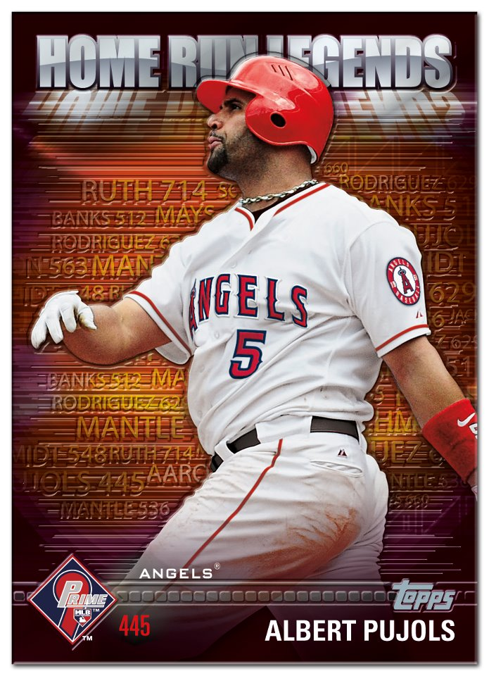 Albert Pujols Is Topps Final Prime 9 Redemption Beckett News