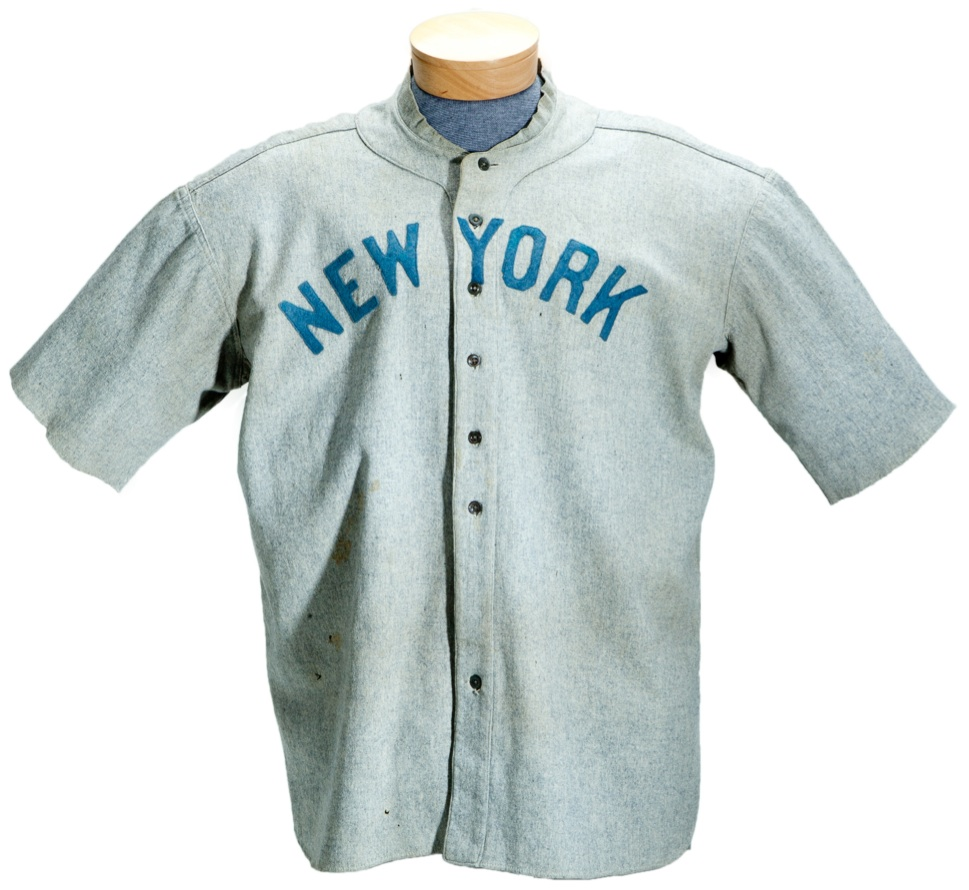 new arrival 5b243 2244e Babe Ruth game-used jersey sells for $4.4 million - Beckett News