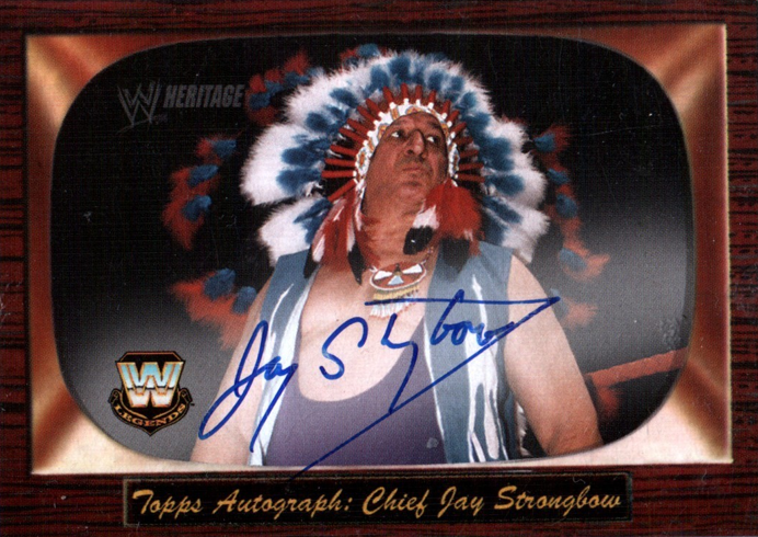 WWE legend Chief Jay Strongbow dies at 83