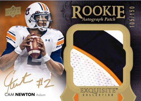new arrivals 25951 bb465 Sports Cards Plus Store Blog: 2011 EXQUISITE FOOTBALL CAM ...