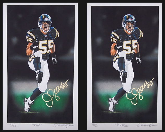 pretty nice 8e058 3bc1c Exclusive: A brother's blessing - Junior Seau's brother ...