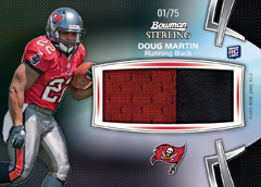 12BSFB_9005_Doug Martin_jumbo rookie black patch relic