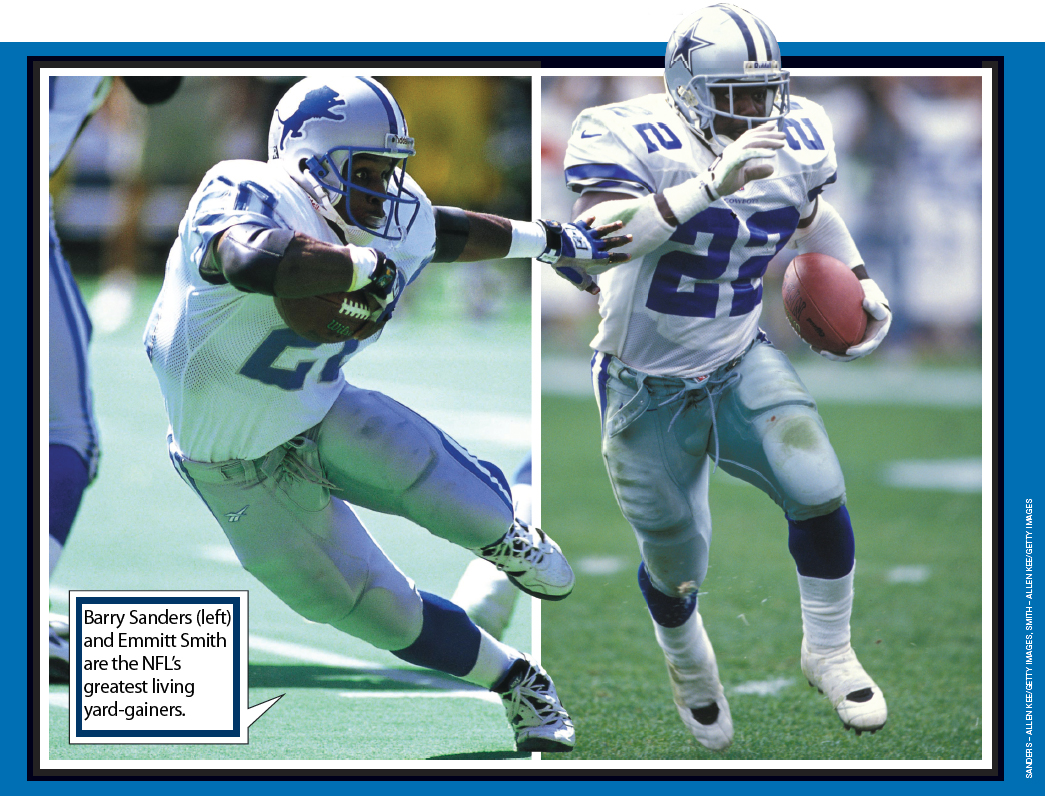 Nfl Rushing Legends Barry Sanders And Emmitt Smith Are Still Going