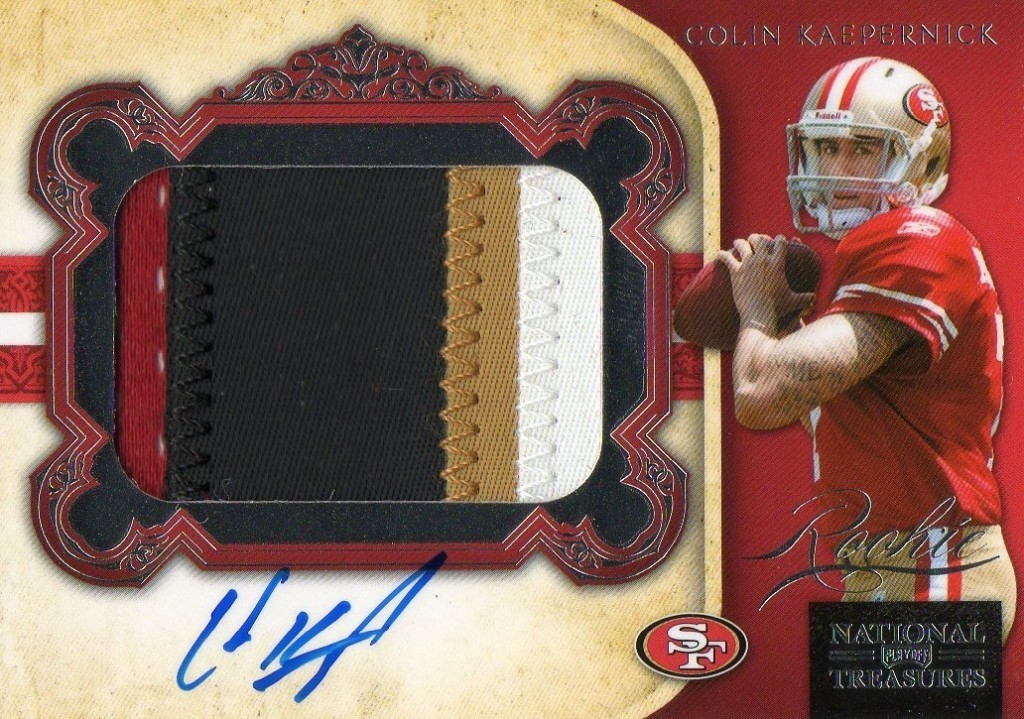 reputable site a51a4 cd606 Kaepernick's Rookie Card values see steady rise - Beckett News