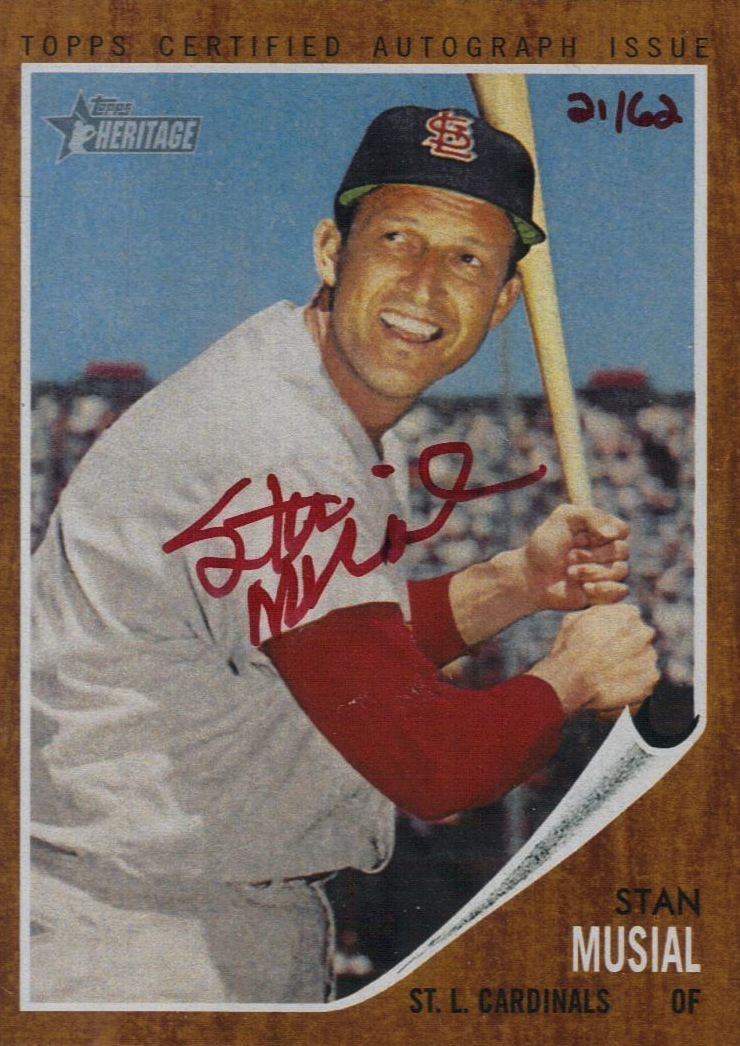 St Louis Cardinals Great Stan Musial Dies At 92 Beckett News