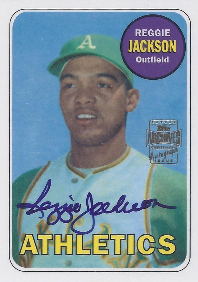 Red Hot Rare Short Printed 2001 Topps Archives Autos