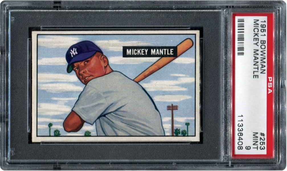 Mantle51psa9memlane