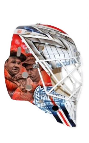 Henrik Lundqvist S Stadium Series Helmet Up For Auction Beckett News