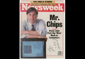 Steve Jobs's Newsweek Cover Autograph Auction | Be...