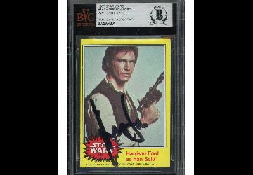 BAS Authenticated Harrison Ford Sells for Record A...