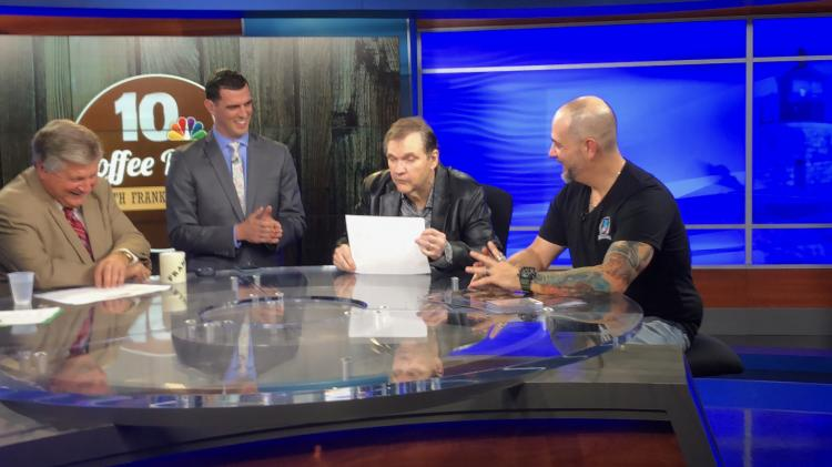 Steve Grad on NBC 10 Coffee Break - Rhode Island Comic Con ;?>