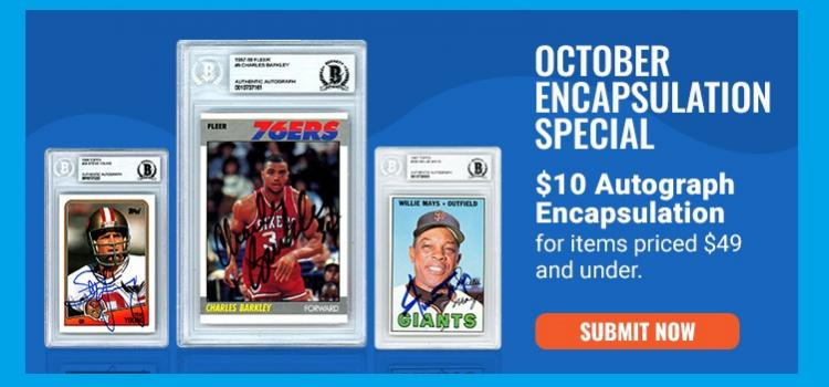 Autograph Encapsulation For $10 | Beckett Authentication Services ;?>
