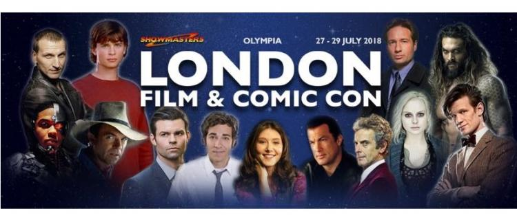 BAS at London Film and Comic Con ;?>