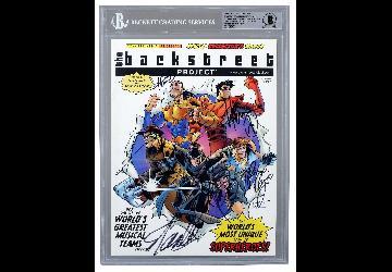 Backstreet Boys Use Beckett Authentication to Cert...