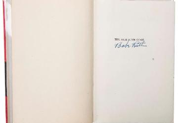 Babe Ruth Signed Autobiography Up For Auction