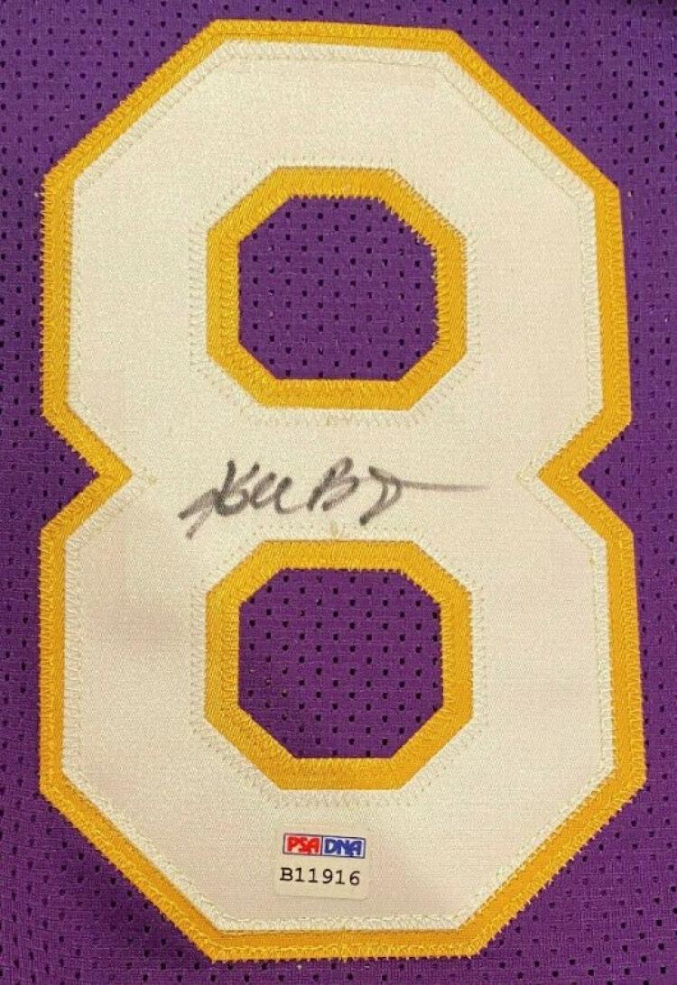 Kobe Bryant Scoreboard Signature