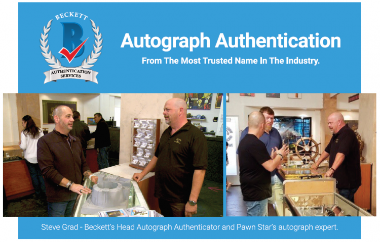 Steve Grad - The Autograph Expert from Pawn Stars ;?>
