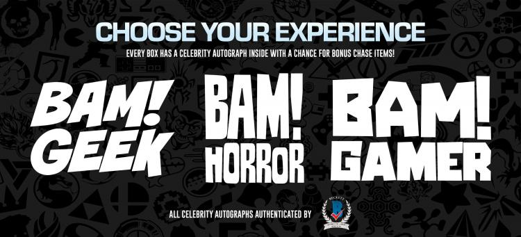 New Partnership Between Bam Box and Beckett Authentication Services ;?>