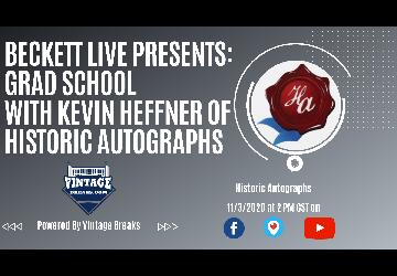 Beckett Live Presents: Grad School with Historic A...