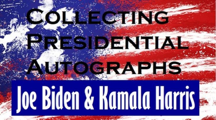 Value of Joe Biden and Kamala Harris Autographs ;?>