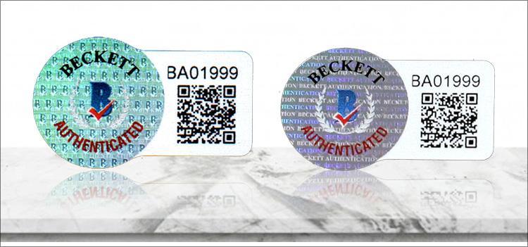 Beckett Authentication Announces New Certification Sticker ;?>