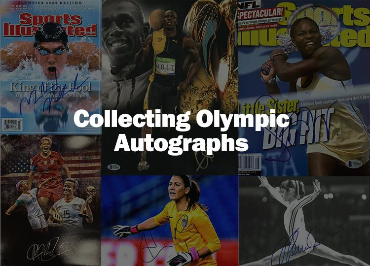 Collecting Olympic Autographs ;?>
