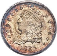 1835 (large 5c, large date)