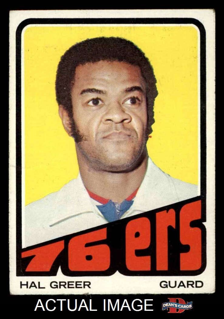 1972 Topps #56  Hal Greer  VG M731