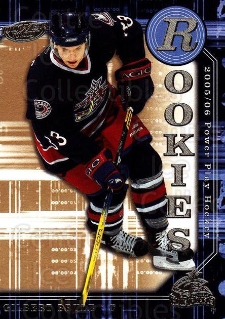 2005-06 Upper Deck Power Play #164 Jim Howard RC