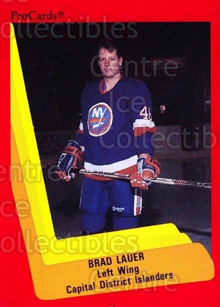 1990-91 ProCards AHL/IHL #501 Brad Lauer