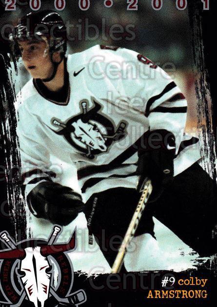 2000-01 Red Deer Rebels #1 Colby Armstrong