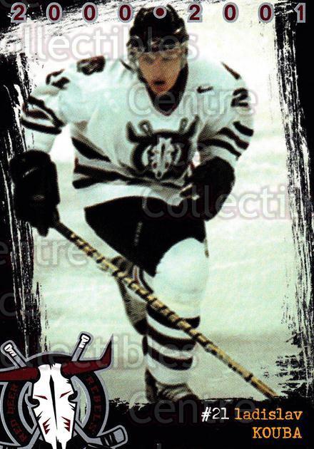 2000-01 Red Deer Rebels #9 Ladislav Kouba