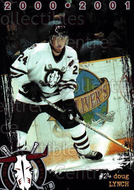 2000-01 Red Deer Rebels #11 Doug Lynch