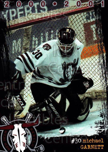 2000-01 Red Deer Rebels #5 Michael Garnett