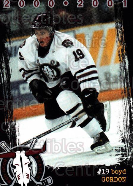 2000-01 Red Deer Rebels #6 Boyd Gordon