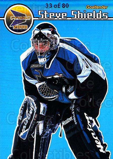 1999-00 Pacific Prism Holographic Blue #127 Steve Shields