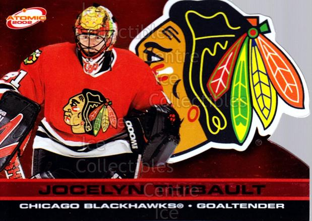 2001-02 Atomic Red #21 Jocelyn Thibault