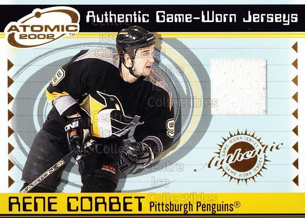 2001-02 Atomic Jerseys #43 Rene Corbet