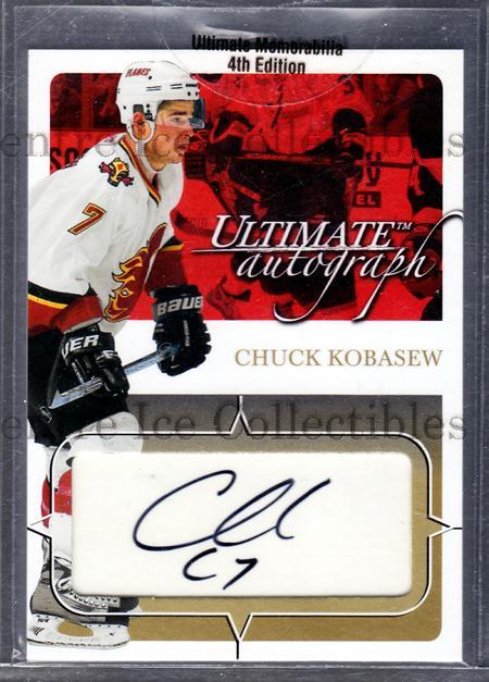 2003-04 BAP Ultimate Memorabilia Autographs Gold #11 Chuck Kobasew