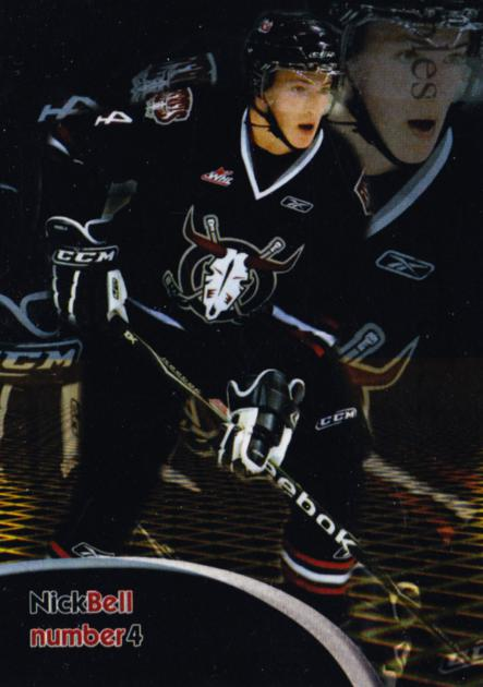 2009-10 Red Deer Rebels #3 Nick Bell