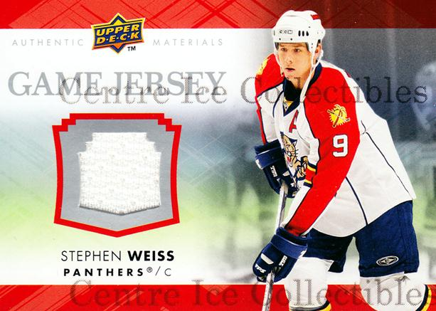 2007-08 Upper Deck Game Jerseys #GJ2SW Stephen Weiss