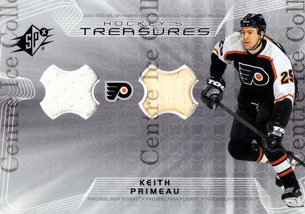 2001-02 SPx Hockey Treasures #HTKP Keith Primeau