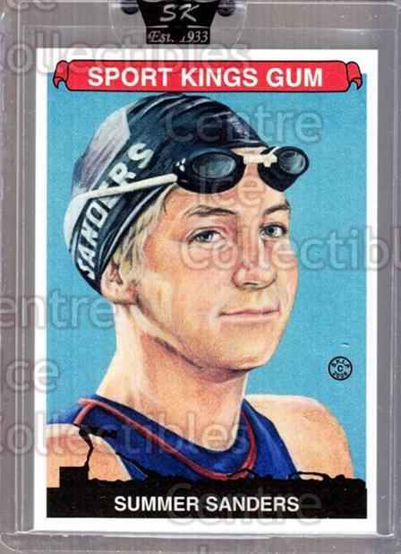 2008 Sportkings #82 Summer Sanders