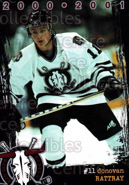 2000-01 Red Deer Rebels #14 Donovan Rattray