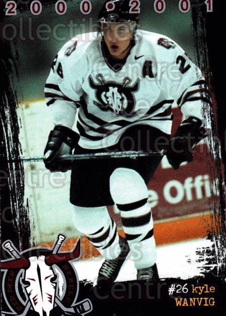 2000-01 Red Deer Rebels #22 Kyle Wanvig